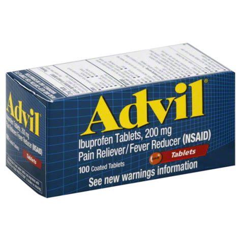 Obat Ibuprofen 200 Mg advil 100 count 200 mg tablets