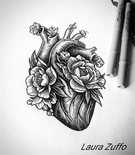 tattoos on the heart pdf the 25 best anatomical drawing ideas on