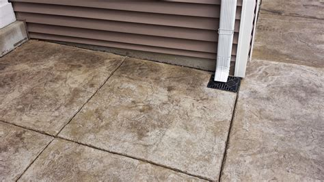 Dishwasher Flooded Floor - downspout with air gap for the home yard