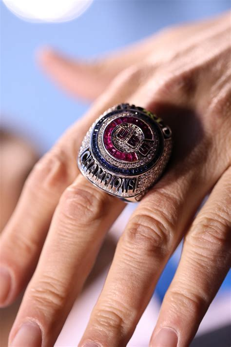cubs rings cubs ring ceremony saturated with history chicago tribune