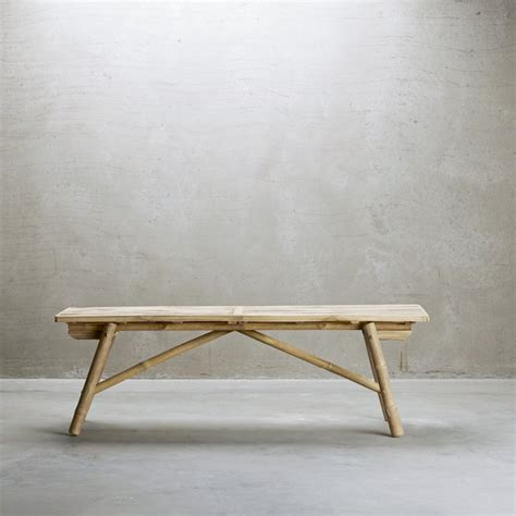 bamboo bench functional bamboo bench in scandinavian design products