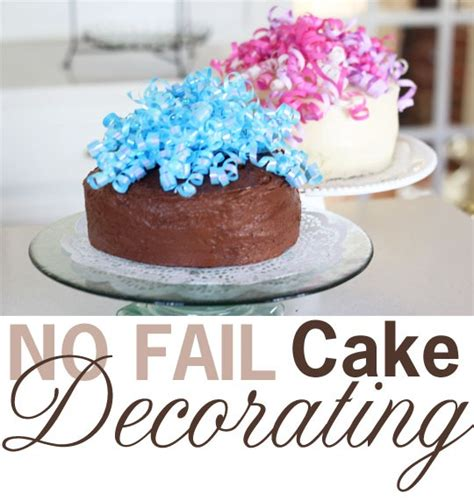 how to decorate a cake at home easy 28 images best 25