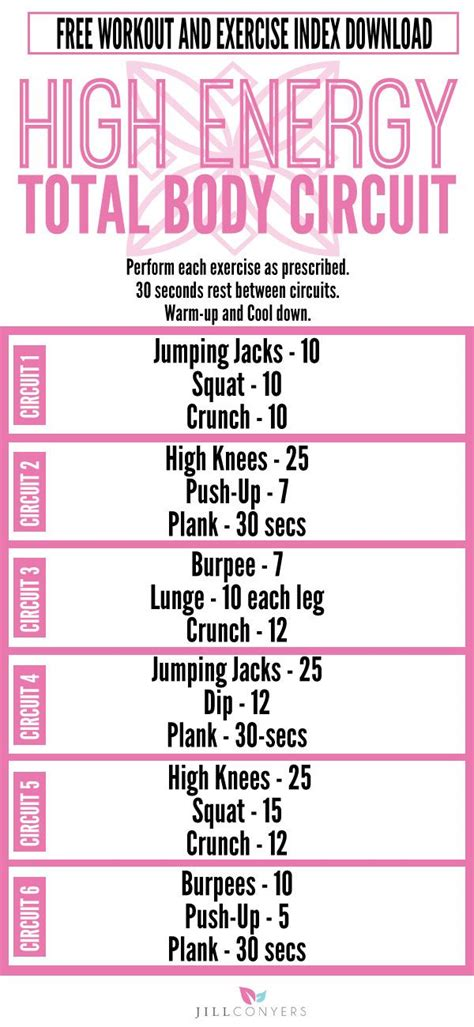 25 best ideas about circuit workouts on
