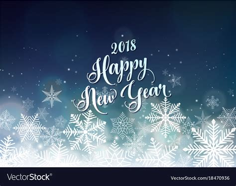 seasons greetings and new year 2018 e cards happy new year 2018 banner seasons greetings card vector image