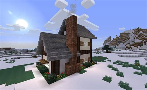 How To Make A Cottage by Cottage Minecraft
