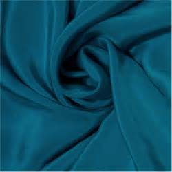 Cheap Fabric For Upholstery Pure Silk Crepe De Chine Fabric Sell By The Yard Dark Teal