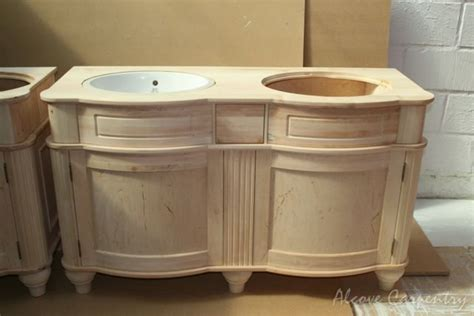Custom Made Vanity Units by Others Alcove Carpentry