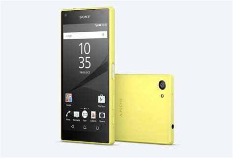 sony compact sony xperia z5 compact price review specifications