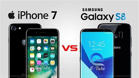 Galaxy S8/S8  vs iPhone 7/7 Plus specs comparison: Battle