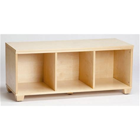 benches: solid wood vp home i cubes storage bench 1312568
