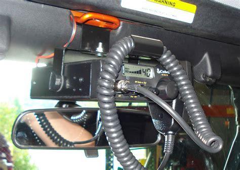 Jeep Tj Cb Mount How To Install A Rugged Ridge Cb Radio Mount Bracket In