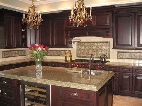 dark cherry kitchen cabinets rich dark cherry remodel traditional kitchen new