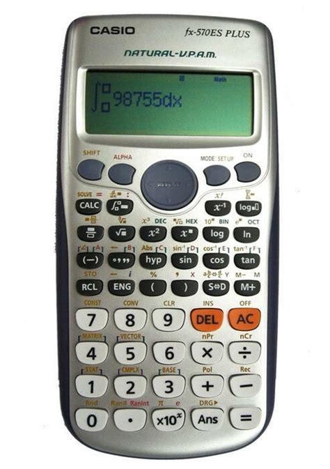 casio fx es  scientific calculator fxes genuine