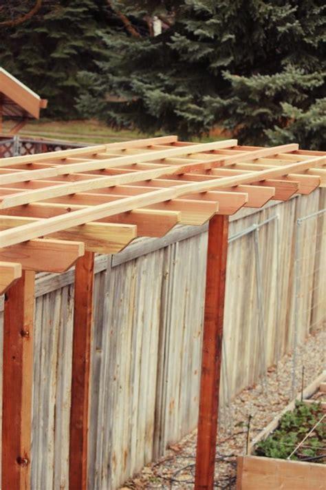Build An Arbor Trellis How To Build A Grape Arbor Step By Step