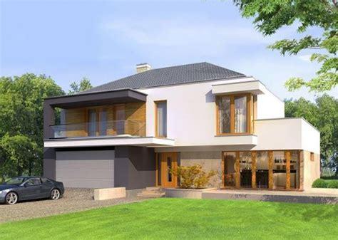 casas chalets plano de casa de dos plantas planos de casas modernas