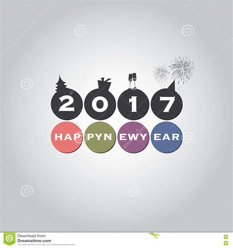 best wishes card design templates new year card background creative design 2017 stock