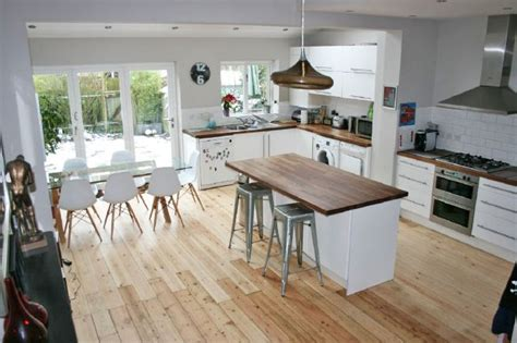 open plan kitchen family room ideas four bedroom terraced house with large open plan kitchen