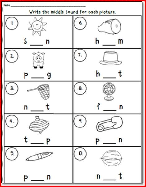 Cvc Worksheets by Cvc Worksheets Wiildcreative
