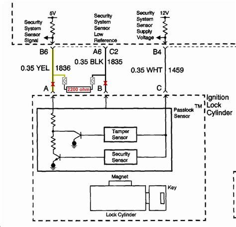 passlock 3 bypass diagram gm passlock security fix chevy