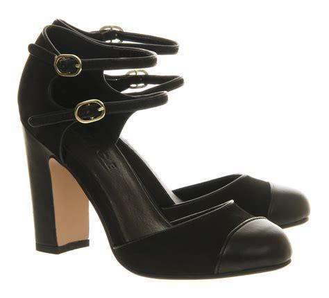 Office Heels 9cm office la di da mid heel shoes in black lyst
