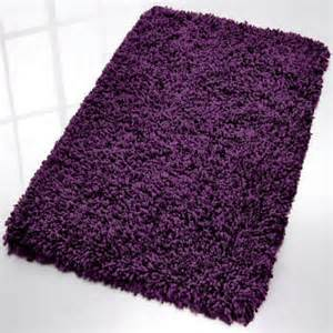 purple bath mats rugs modern shag bath rug from vita futura modern