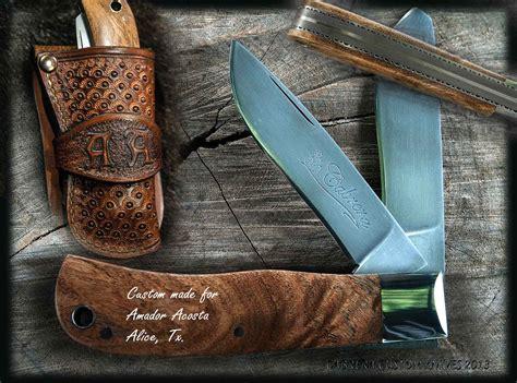 Handmade Personalized - handmade custom knives customer photos