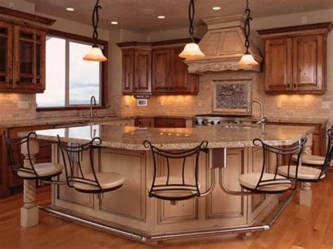 Kitchen Island Designs With Seating Photos Kitchen Island With Bar Seating