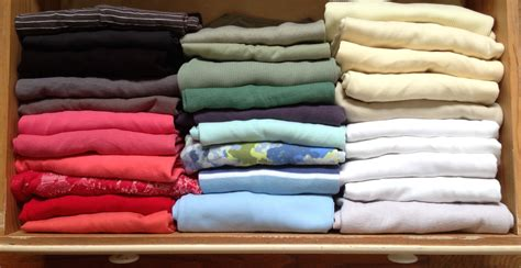 How To Fold Sweaters In A Drawer by Konmari Method Of Folding Clothes