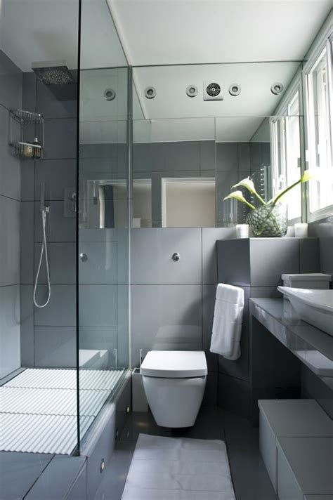 small bathroom with white suite and mirrors housetohome 17 best images about teeny weeny en suites on pinterest