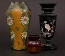 Daum Crane Vase by Daum Nancy Aspire Auctions