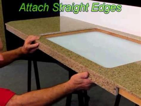 How To Remove Old Kitchen Faucet stonecovers diy quartz countertops youtube