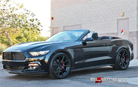 mustang with ford mustang wheels and tires 18 19 20 22 24 inch