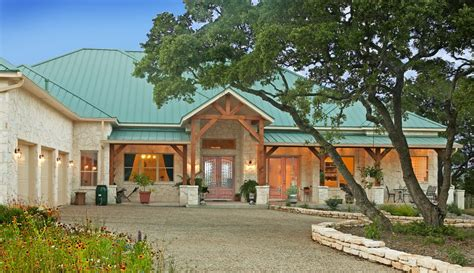best of 16 images large ranch house home building plans austin hill country homes austin custom home builder
