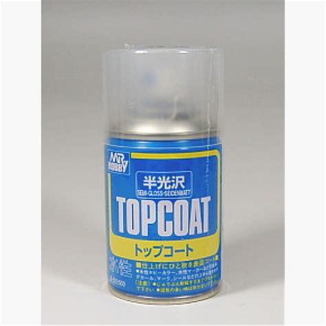 mr hobby top coat semi gloss acrylic