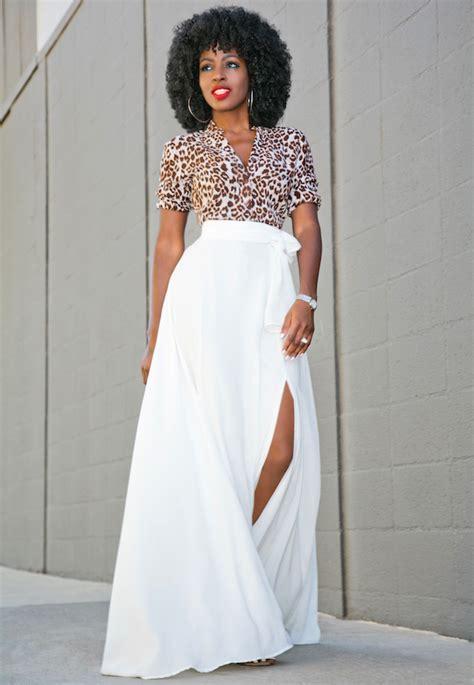 Maxi Set 0243 white maxi skirt with slits fashion skirts