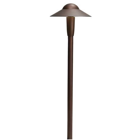 Kichler Lighting Textured Architectural Bronze Led Path Kichler Led Path Lights