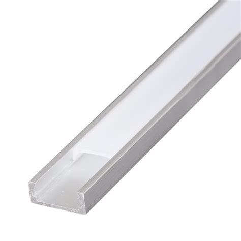Lu Led Fleksibel aluprofil flad til led strips 2 meter i l 230 ngden kun 6mm