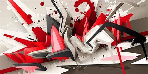 imagenes en 3d grafitis realistic 3d graffiti inspiration media militia
