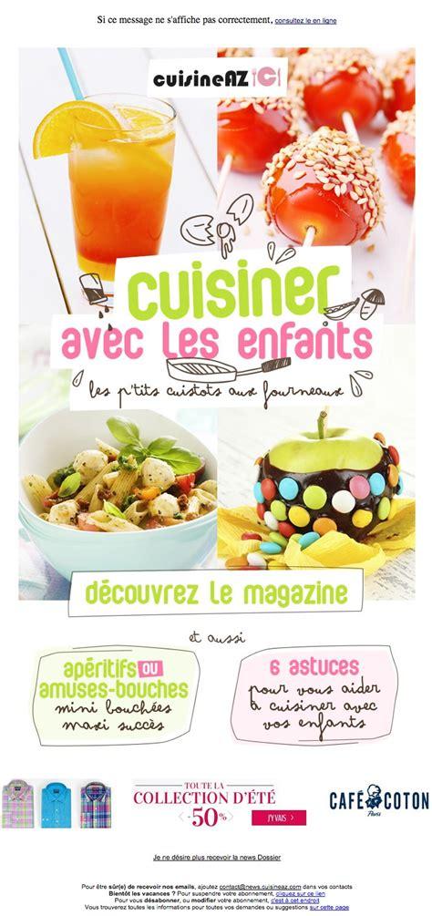 cuisiner pour les enfants galerie de newsletters cuisine az cuisiner avec les