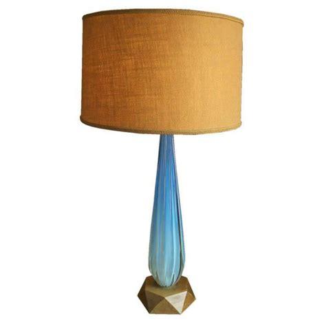Aqua Table L Seguso Aqua Blue Channelled Murano Glass L For Sale At 1stdibs