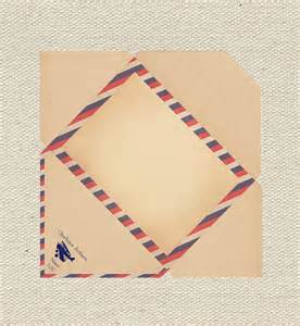 items similar to vintage airmail envelope diy printable on