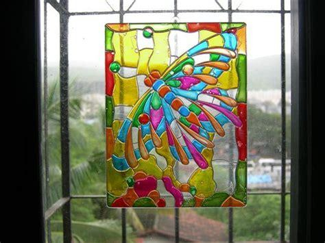 imagenes para pintar en vidrio como pintar cristal