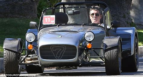 simon cowell new car cowell leaves bugatti s bentleys at home for his brand