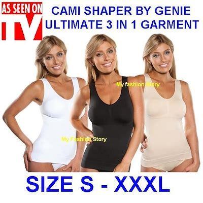 Cami Shaper 1 qoo10 genie new cami shaper by genie the ultimate 3
