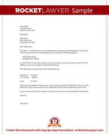 late rent letter template late rent notice letter for rent payment form with sle