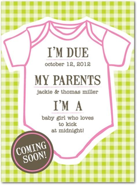 Baby Calendar Due Date Due Date Baby Announcements In Hello