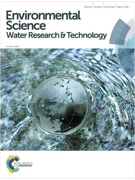 water treatment research papers environmental science water research technology