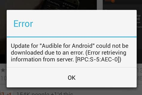 android message not downloaded how to fix play apps won t error rpc s 5 aec 0