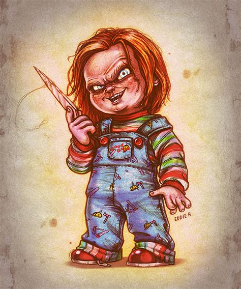 chucky the good guy by eddieholly on deviantart