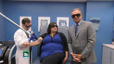 tattoo removal tv show new laser treatment for removal the doctors tv show